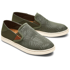 OluKai Pehuea Shoes Dame dusty olive/palm